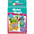 Water Magic Animals - Carte Colorat Safari, Galt