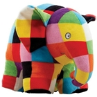 Jucarie din Plus Elmer 17 cm, Rainbow Design