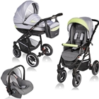 Carucior Crooner 3 in 1 Green Gray, Vessanti