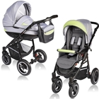 Carucior Crooner 2 in 1 Green Gray, Vessanti