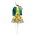 Set Croitorie Hainute de Papusi Lucy Green, Dress your Doll