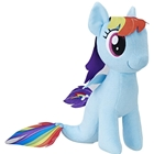 Jucarie Plus My Little Pony Rainbow Dash Sirena 25 cm, Hasbro