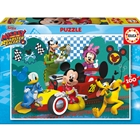 Puzzle Mickey and the Roadster Racers 100 Piese, Educa
