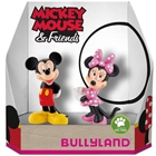 Set 2 Figurine Minnie si Mickey Mouse, Bullyland