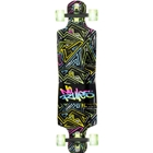 Longboard Neon cu LED-uri No. 361, No Rules