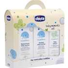 Set Cosmetice Baby Moments Sampon, Spuma si Crema Antiiritanta, Chicco