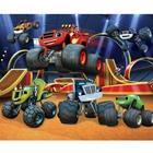 Tapet pentru Copii Blaze and the Monster Machines, 243 x 304 cm, Walltastic