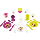Cos Picnic Masha and The Bear si Set Vesela cu 21 Accesorii, Smoby