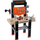Atelier Smoby Black and Decker Bricolo Center cu Accesorii, Smoby