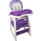 Scaun de Masa Multifunctional Baby Place Mamakids Mov cu Fluture, Kidcity