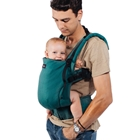 Marsupiu Toddler Organic Full Wrap Conversion The Trendsetter Green (R)Evolution, Isara