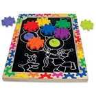 Puzzle Magnetic Schimba si Roteste, Melissa & Doug
