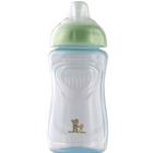 Pahar cu Supapa Silicon 300 ml Baby Blue Pearl, Rotho-Baby Design