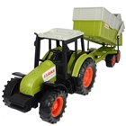 Jucarie Tractor Class Celtis 446 RX cu Remorca, Dickie Toys