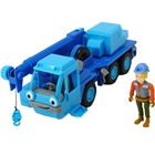 Camion Bob Constructorul Action Team Lofty cu 1 Figurina Wendy, Dickie Toys