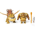 Set de Joaca Dreamworks Dragon Fishlegs si Meatlug - How to Train your Dragon, Spin Master