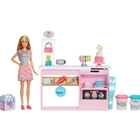 Set de Joaca Barbie by Mattel Papusa si Atelier de Cofetarie GFP59, Barbie