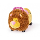 Jucarie Ride-on Lion Pink, FUNNY WHEELS RIDER
