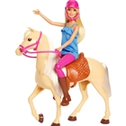 Set Barbie by Mattel Family Pets Papusa cu Cal, Barbie