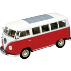 Masinuta Volkswagen 1963 T1 BUS Scara 1:24, Welly