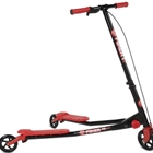 Trotineta Yvolution Fliker Air A3 Roller Black Red, Ybike