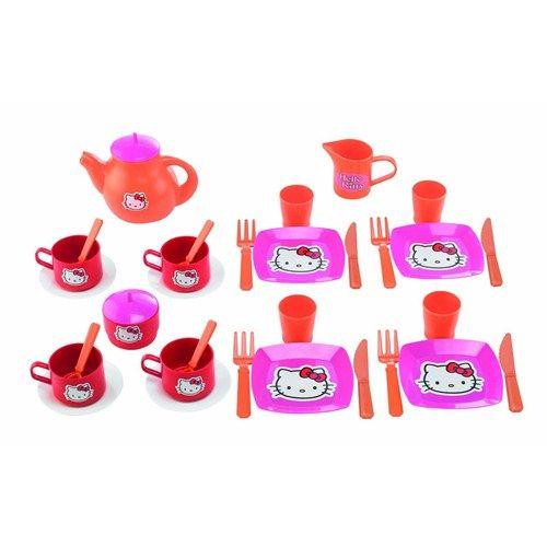 Set Mic Dejun si Set Ceai Hello Kitty, Ecoiffier