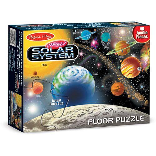 Puzzle de Podea Sistemul Solar, Melissa & Doug