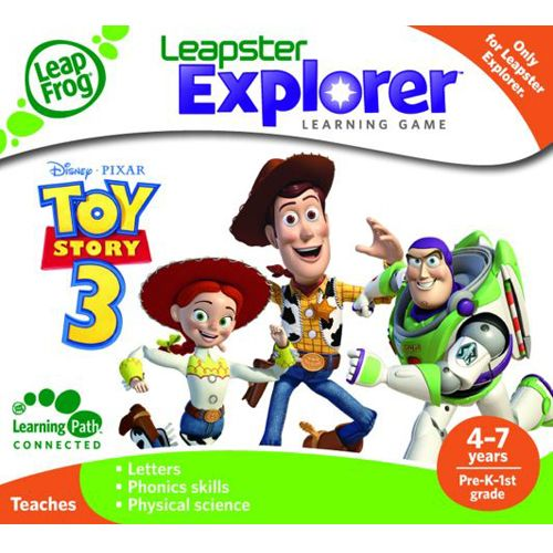 Soft Educational LeapPad ToyStory 3, Leap Frog