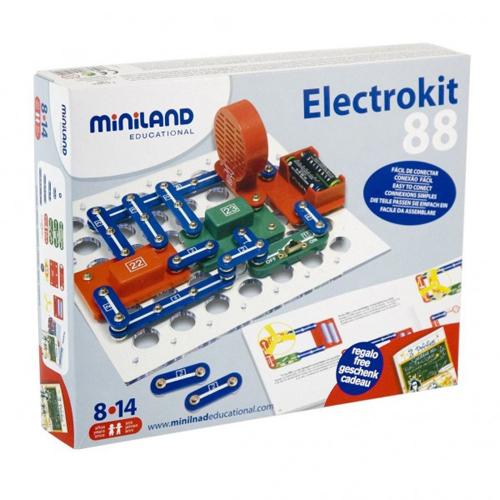 Puzzle Electronic cu 88 Variante, Miniland
