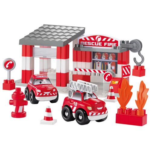 Set Statie Pompieri, Ecoiffier