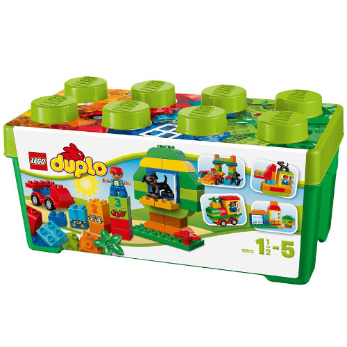 LEGO DUPLO Cutie pentru Distractie All-In-One 10572, LEGO