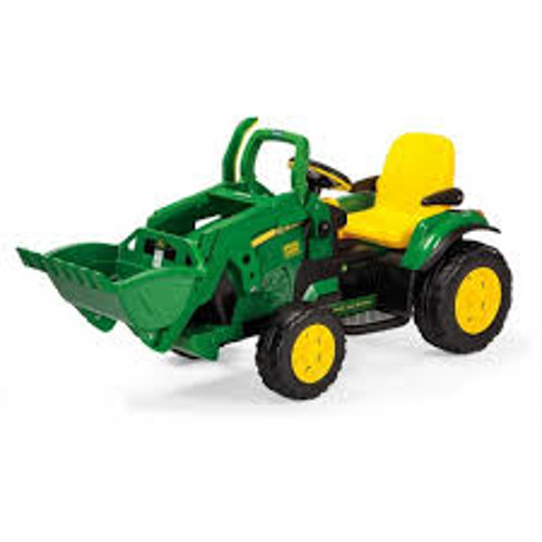 Tractor cu Excavator JD Ground Loader, Peg Perego