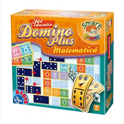 Joc Domino Plus Matematica, D-Toys
