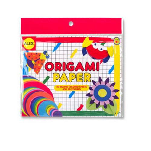 Origami Hartie Circulara, Alex Toys