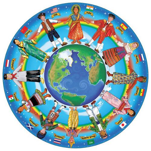 Puzzle 48 Piese - Copii in Jurul Lumii, Melissa & Doug