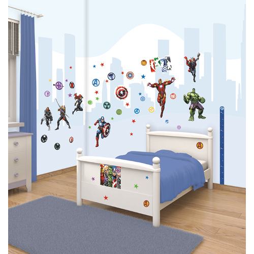 Kit Decor Avengers, Walltastic