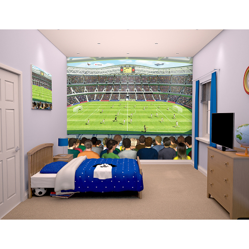Tapet pentru Copii Football Crazy New, Walltastic