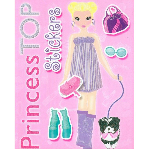 Princess Top Stickers Roz, Editura Girasol