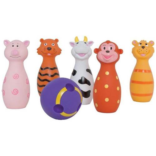 Set de Popice Soft cu Animalute, Ludi