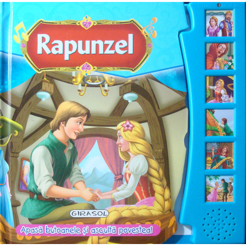 Citeste si Asculta Rapunzel, Editura Girasol