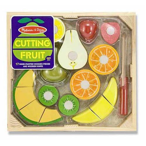 Set Fructe din Lemn pentru Taiat, Melissa & Doug