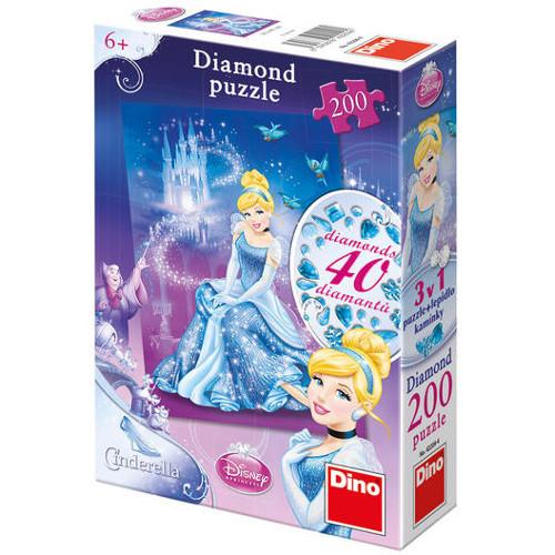 Diamond Puzzle - Cenusareasa - 200 Piese , Dino Toys