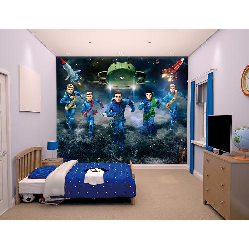 Tapet pentru Copii Thunderbirds, Walltastic