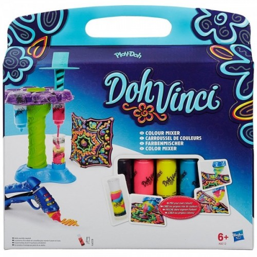 Set Personalizeaza Culorile Doh-Vinci, Hasbro