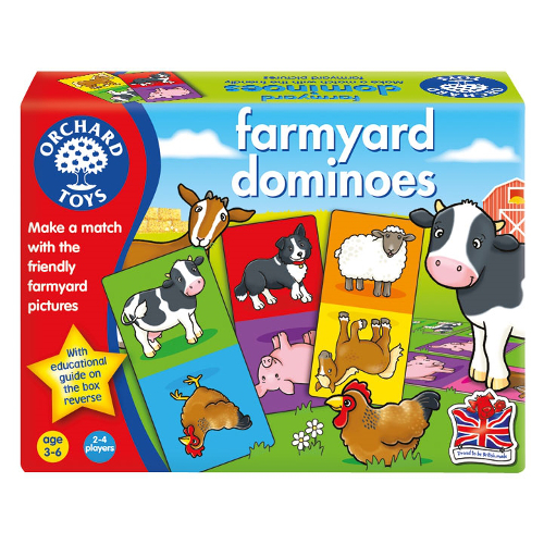 Joc Educativ Domino Ferma, Orchard Toys