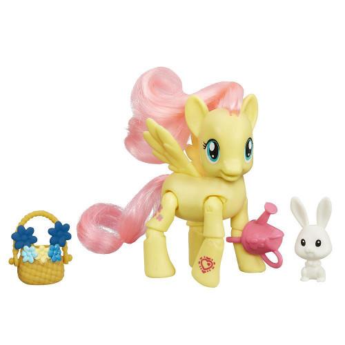 My Little Pony - Fluttershy cu Flori, Hasbro
