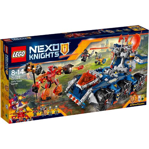 LEGO NEXO KNIGHTS- Transportorul lui Axl 70322, LEGO