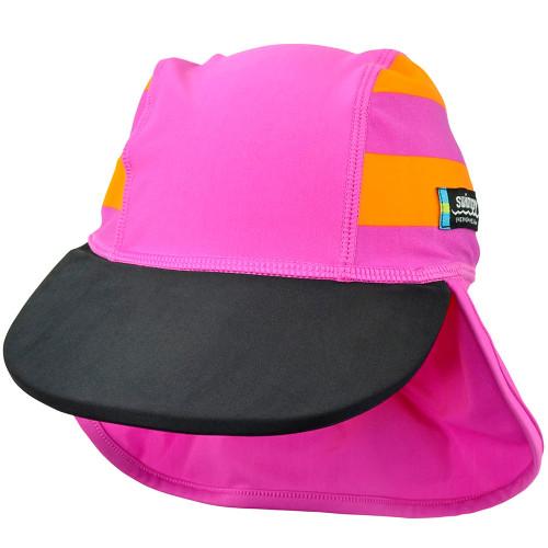 Sapca Sport Pink 2-4 ani Protectie UV, Swimpy
