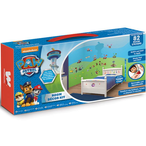 Kit Decor Paw Patrol, Walltastic