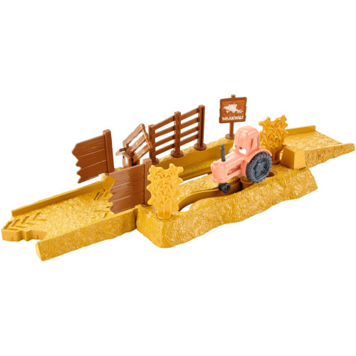 Set Pista Lansator - Tractor Tippin Cars, Mattel